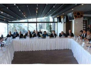 DSİ Bölge Müdürlüğüyle Değerlendirme Toplantısı Sona Erdi