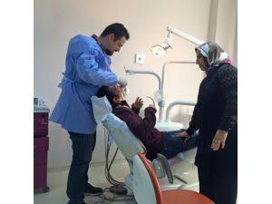 TRSM'de Ki Hastaların Ağız Ve Diş Sağlığı Tedavisi Yapıldı