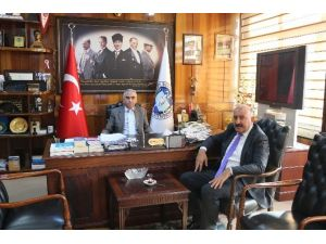 Gökçebey Belediye Başkanı Öztürk Demirciyi Ziyaret Etti