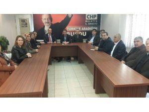 Mastöb'den CHP'ye Ziyaret