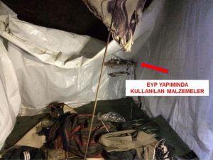 Bitlis'te PKK'ya ait sığınak bulundu