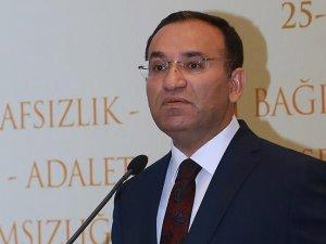Adalet Bakanı Bozdağ: Demirtaş'ın açıklamaları ihanettir ve yok hükmündedir