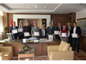 Antalya Valisi Türker'den, DSİ'ye Başarı Belgesi