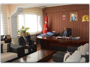 PTT Başmüdürü Açıkel'den Veda Ziyareti
