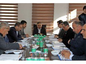 Mardin OSB'de Toplantı