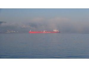 Çanakkale Boğazı sis sebebiyle trafiğe kapatıldı