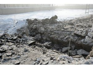 Yüksekova'da Şiddetli Patlama