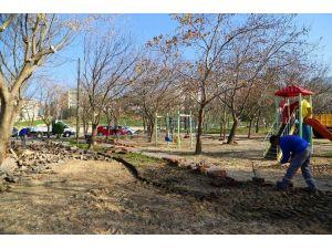 Büyükçekmece'nin Parkları Yenileniyor