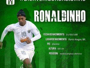 Ronaldınho'nun Yeni Takımı Belli Oldu