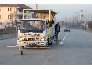 Yol Çizgileri İle Trafik Düzenlemesine Katkı