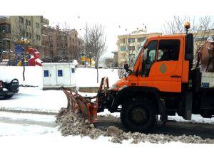 Çankaya Belediyesi karla mücadeleye hazır