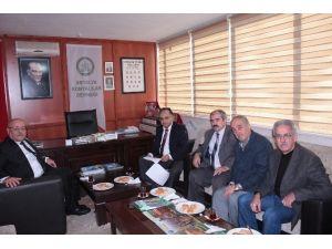 Kepez Kaymakamı'ndan Konyalılar Derneği'ne Ziyaret
