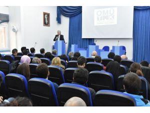 OMÜ'de Tarih Kültür Ve Sanat Konuşuldu