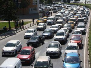Erzurum'da araç sayısı 5 yılda yüzde 34 arttı