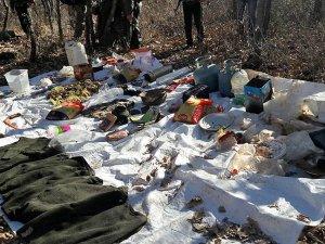 Bingöl'de terör örgütüne ait sığınaklar bulundu