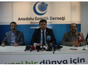 Anadolu Gençlik Derneği Mekke'nin Fethi'nin 1385.yıl Dönümünü Kutluyor