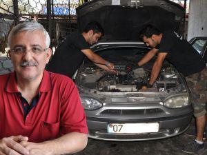 Antalya'da yılbaşı gecesi nöbetçi oto tamirci hizmeti verilecek