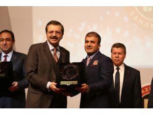 Ödül Şampiyonu Kadooğlu Holding'e GSO'dan İSO 500 Ödülü