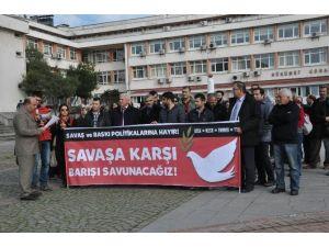 Sinop'ta Basın Açıklaması