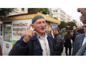 Mardinli Yaşlı Adamdan Eylemcilere Tepki