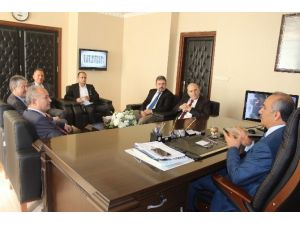 Enerjisa'dan Başkan Culha'ya Ziyaret