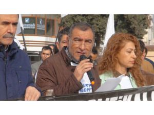 Şanlıurfa'da sokağa çıkma yasağı protesto edildi