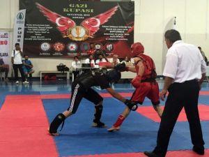 Bağcılar'da Wushu Kung-fu Sporuna Yoğun İlgi