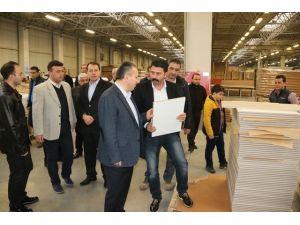 Vali Fidan Gümüşova'da Ki Sanayi Kuruluşlarını Gezdi