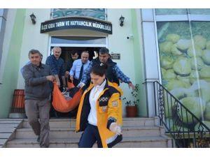 ÇKS İçin Müdürlüğe Gitti, Kalp Krizine Yenik Düştü