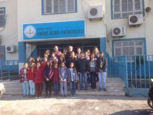 Tarsus'ta Yakılan Okulda Eğitim Aksamadan Devam Ediyor