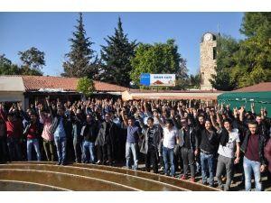 Akdeniz Üniversitesi'ndeki Eyleme Polis Müdahalesi