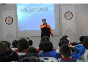 Van'da Temel Afet Bilinci Eğitimi