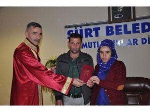 Siirt'te 2015 Yılında Bin 140 Resmi Nikah Kıyıldı
