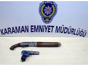 Karaman'da Kurşunlama Olayına Karışan 2 Kişi Yakalandı