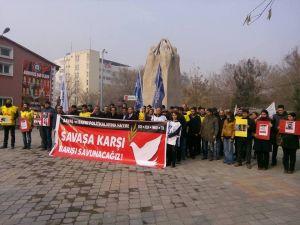Iğdır'da sendikalardan ortak tepki: Savaşı durdurun