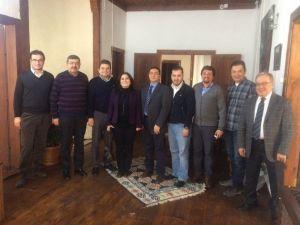 Eczacılar Odası, Anadolu Hastanesi Yönetimini Ziyaret Etti
