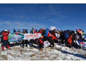 Edirneli Dağcılar Allahukber Dağları'nda Şehitleri Andı