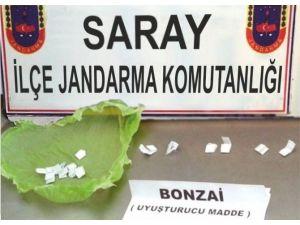 Saray'da Jandarmadan Uyuşturucu Operasyonu