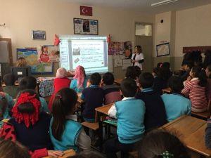Cumhuriyet İlkokulu'nda Temizlik Ve Hijyen Eğitimi