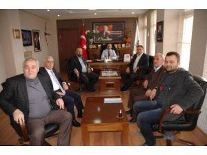 İl Genel Meclis Başkanı Kayıkçı Hanönü Belediye Başkanı Uçar'ı Ziyaret Etti