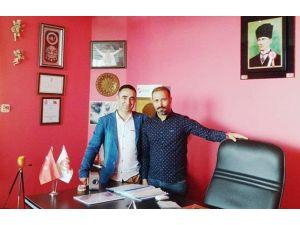 """Sanatçı Ayhan Murat: """"Her Zaman Gençlik Ve Spor Konfederasyonu'nun Yanındayım"""""""