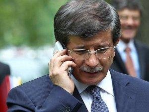 Davutoğlu çiftinden Miray bebeğin ailesine taziye telefonu