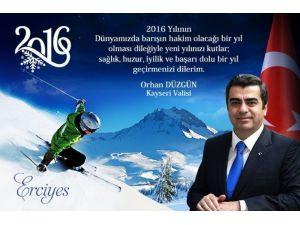 """Vali Orhan Düzgün'ün, """"Yeni Yıl"""" Mesajı"""