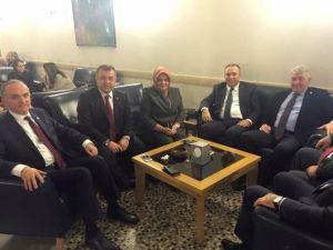 Düzce'nin Sorunları Ankara'da Ele Alındı