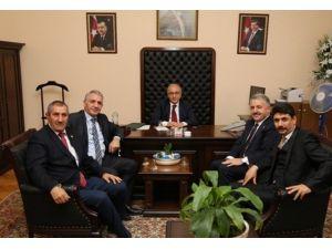 AK Parti Kars, Ardahan Ve Iğdır Milletvekillerinden Başbakan Yardımcısı Elvan'a Ziyaret