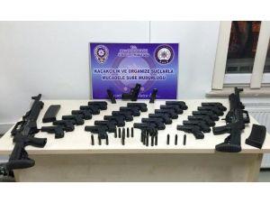 Malatya'da Çok Sayıda Silah Ele Geçirildi