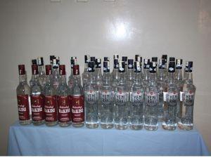 Aydın'da kaçak içki ele geçirildi
