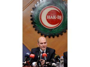 Soylu: Asgari ücretteki artışın maliyetinin yüzde 40'nı devlet karşılayacak