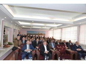 Muş'ta 2015 Yılı Yatırımları Değerlendirme Toplantısı