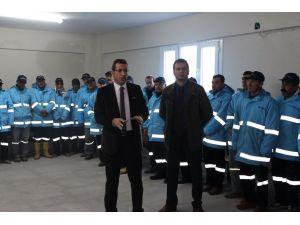 Yılbaşı öncesi temizlik işçileriyle denetim toplantısı yapıldı